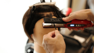 アイロンセットでツイストパーマ風メンズヘアの仕方(男性髪型)