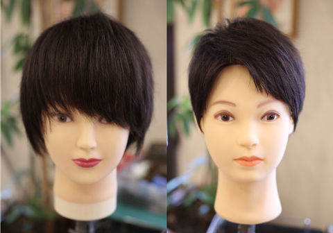 就職活動面接用の前髪ヘアスタイル
