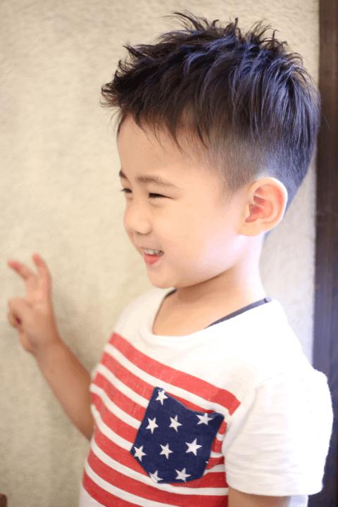 子供のツーブロックの切り方とバリカンの使用方法