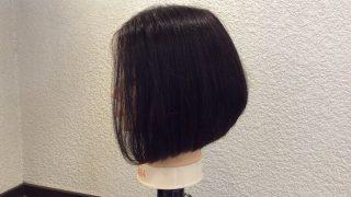 簡単レディースキッズカット、子供の髪型を3種類の前下がりボブにする切り方